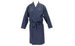 Men's Woven Long Line Robe