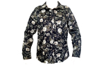 Floral Cotton Print Blouse